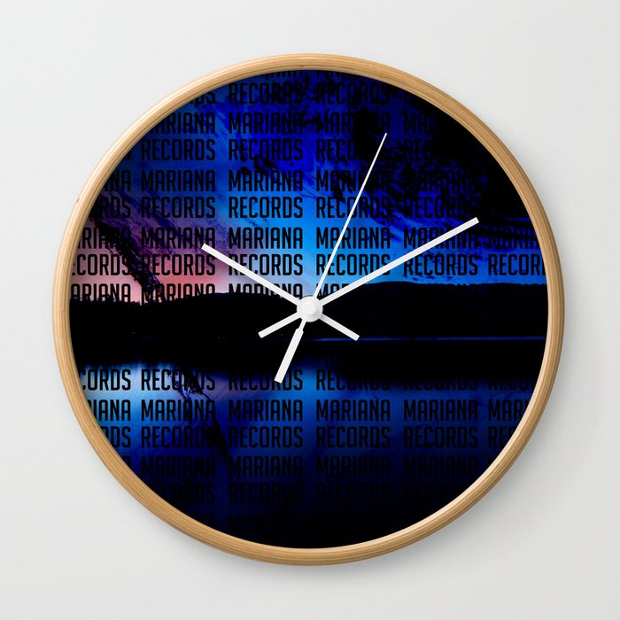 Spaceset with Words Wall Clock