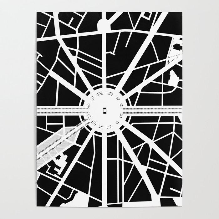 Arc de Triomphe. Paris Poster