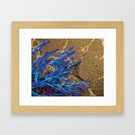 I Turned Blue Framed Art Print