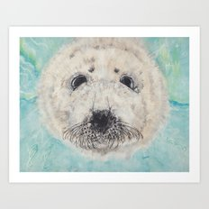 Seal with it Art Print