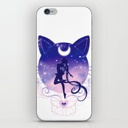 Fight like a girl iPhone Skin