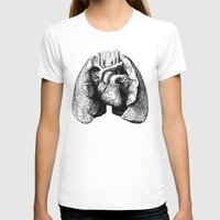 lungs T-shirts featuring Lungs by Sadiie