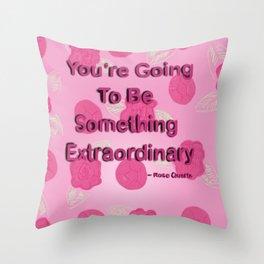 Steven Universe Rose Quartz Inspired Throw Pillow