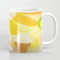 bunny Mugs featuring Bunny  by lil kitsch shop