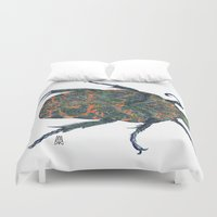 beetle Duvet Covers featuring Beetle by MSRomeiro