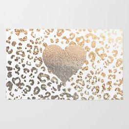 GOLD HEART LEO Rug