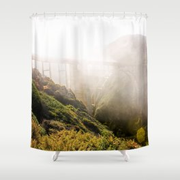 Foggy Day in the Bay Shower Curtain
