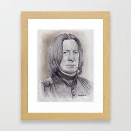 Alan Rickman as Professor Severus Snape Framed Art Print