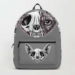 Shynx Half Skull Backpack