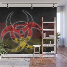 Biohazard Germany, Biohazard from Germany, Germany Quarantine Wall Mural