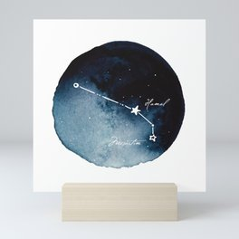 Aries Zodiac Constellation Mini Art Print