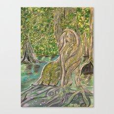 Mangrove Mermaid Canvas Print