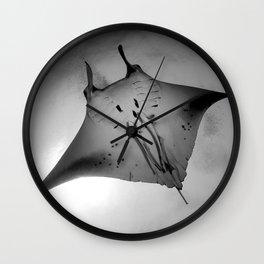 Manta Ride Wall Clock