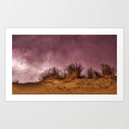 Marram grass Art Print