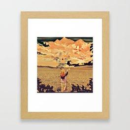 Dreams of Freedom Framed Art Print