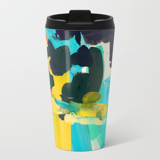 Lonely Water Metal Travel Mug