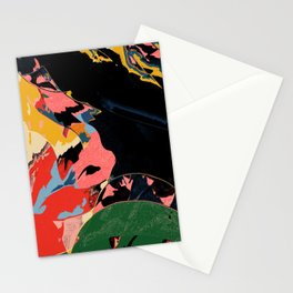 Half past black hour Stationery Cards