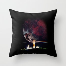 The Dark Side of Throw Pillow