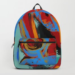 Freak of Nature Street Art Primitive Backpack