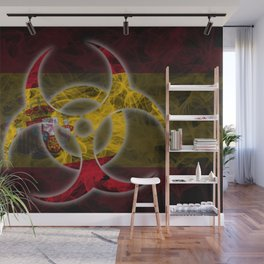 Biohazard Spain, Biohazard from Spain, Spain Quarantine Wall Mural