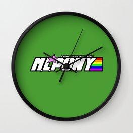 M.L. PONY Wall Clock