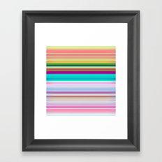 Stripes #3 Framed Art Print
