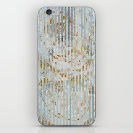 Gold roses iPhone Skin