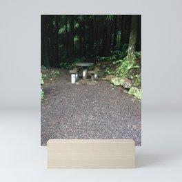 Picnic Table Mini Art Print