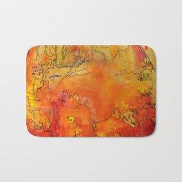 Yellow Dreams Bath Mat