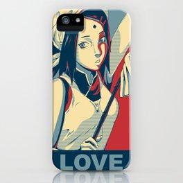 Sakura - Love iPhone Case
