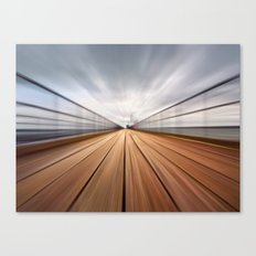 Southend On Sea Pier Canvas Print