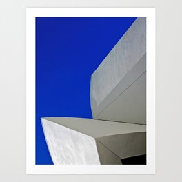 MIAMI GEHRY TWO Art Print