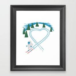 Believe...In Love Framed Art Print