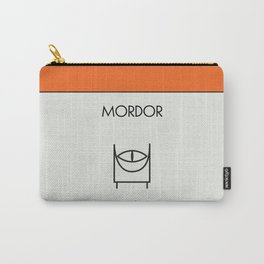 Mordor Monopoly location Carry-All Pouch
