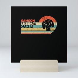 Samson Legendary Gamer Personalized Gift Mini Art Print