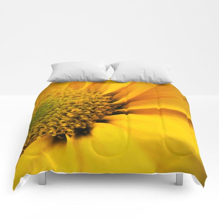 Big Yellow Flower Comforters