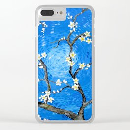 A Salute to Van Gogh Clear iPhone Case