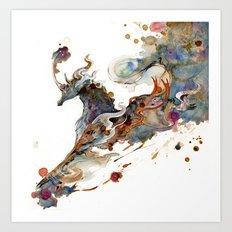 Kirin Unicorn Art Print