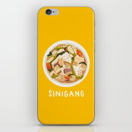 Sinigang iPhone Skin