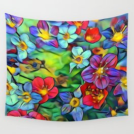 Amazing Floral 29B Wall Tapestry