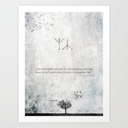 The Distress Art Print