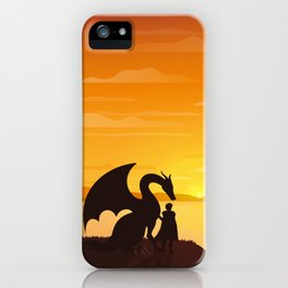 Dragon King Bakugo Landscape iPhone Case