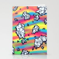 breaking Stationery Cards featuring Breaking by Taylor deVille