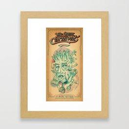 The Amazing Multitasker Framed Art Print