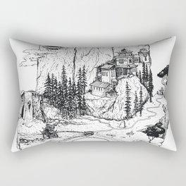 Hamsa in Nature Rectangular Pillow