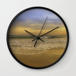 Summer evening Wall Clock