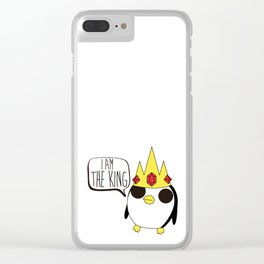 I am the king Clear iPhone Case