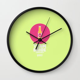 Team bride Edinburgh 2017 Henparty T-Shirt D513r Wall Clock