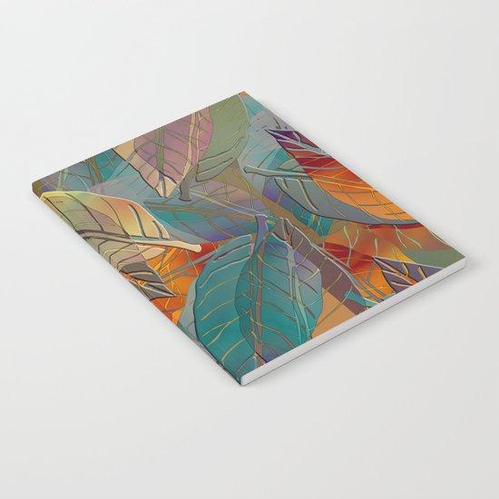 Autumn Pattern Notebook