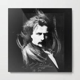 Polish Lion - Ignacy Jan Paderewski Metal Print